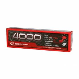 Robitronic Stick Pack NiMh 7.2v 4000mha con spinetta Tamiya & T-plug