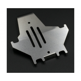 Yeah Racing Protezione in acciaio Centrale Skid Plate (1) x TRAXXAS TRX-4
