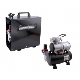 Mini Compressore AS-186A serbatoio e protezione