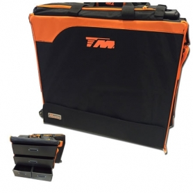 TM Touring Car Bag 2015 – borsa trolley x automodelli touring 1/10 con cassetti in plastica