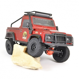 SCALER 1/16 FTX OUTBACK RANGER XC Pick Up RTR TRAIL CRAWLER ROSSO