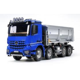 Tamiya Mercedes-Benz Arocs 4151 8×4 Tipper Truck in scala 1/14