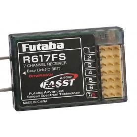 RICEVENTE FUTABA RX R617FS 2,4G 7CH
