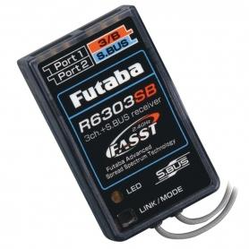 RICEVENTE FUTABA RX R6303SB 2,4G 3CH BUS/8CH
