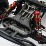 AMMORTIZZATORI YEAH RACING 105mm Big Bore ROSSO x TRAXXAS  RC (2)