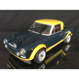 124 Abarth rally gialloblu RTR