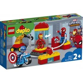 LEGO DUPLO IL LABORATORIO DEI SUPEREROI