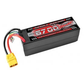 BATTERIA LIPO TEAM CORALLY 50C 6700Mah 14,8V XT90 HC