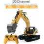 HUINA TOYS Escavatore in Metallo RC 2,4G 23ch V.4