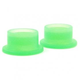 guarnizione in silicone x scarico posteriore 2,5 verde (2pz)
