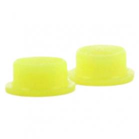 guarnizione in silicone x scarico posteriore 2,5 giallo (2pz)
