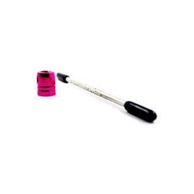 supporto marmitta 4mm rosa