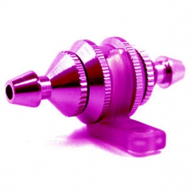 filtro miscela round type piccolo con supporto colore fucsia