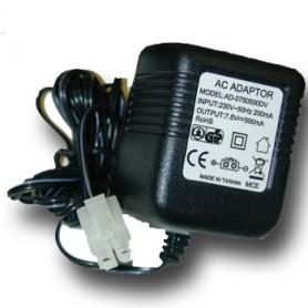 tm caricabatterie x stick pack 7.2v 220v.