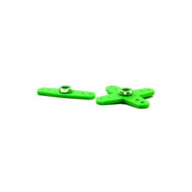squadrette servo rinforzate x ko sanwa jr (2pz) verde