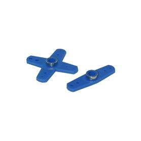 squadrette servo rinforzate x hitech (2pz) blu