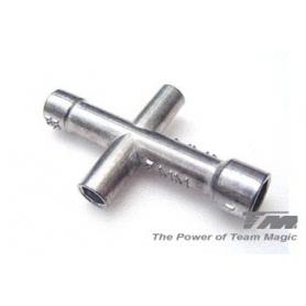 tm chiave a croce (4, 5, 5.5  7mm)