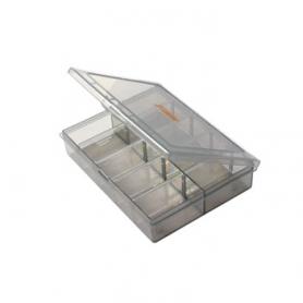 tm scatolina porta ricambi con separatori 13x10x2.8
