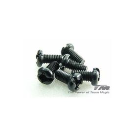 3x6mm steel rh screw (cross) (6)