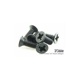 3x8mm steel fh screw (cross) (6)