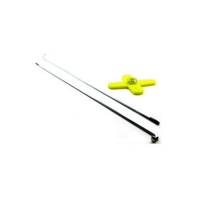 kit x leveraggi freno/gas con squadretta a croce x hitech