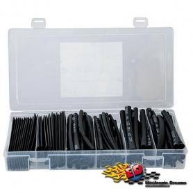 termostringente nero in kit diametri 2-3-5-6-8-10mm (100x10xm)
