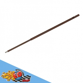 arrowmax stelo cacciavite brugola 2.5mm in acciaio 120mm ricambio