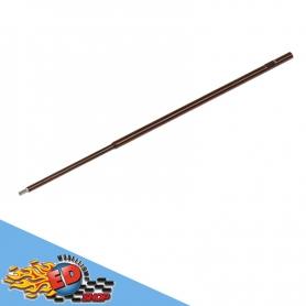 arrowmax stelo cacciavite brugola 3.0mm in acciaio 120mm ricambio