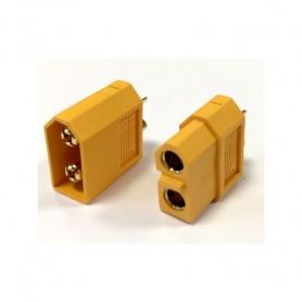 plug xt60 maschio/femmina (1cp)