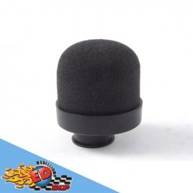 filtro aria in spugna testa rotonda foro stretto per motori 1/10