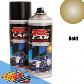 rc car colours x lexan oro gold