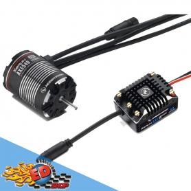 xerun axe 540-1200kv combo brushless 38020251 scaler crawler esc v1.1 + motore axe540 1200kv