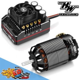 xerun combo xr8 pro g2 200a. + 4268sd g3 2800kv - 1/8 on-road competition 380204230