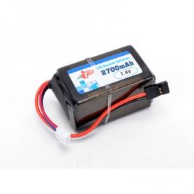 intellect 2700/1c 2s2p hump batteria lipo rx/tx 7.4v.