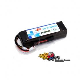 intellect 2800/1c 3s flat batteria lipo tx 11.1v. 96x30x26mm
