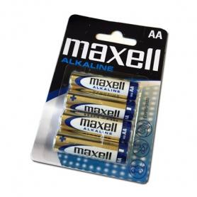 maxell pila stilo aa alkalina 1,5v (blister 4pz)