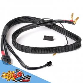 monkeykingrc cavo professionale per ricarica batterie xt60-2sxh 30mm nero 60cm 12awg