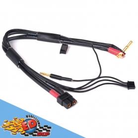 monkeykingrc cavo professionale per ricarica batterie xt60-2sxh 30mm nero 30cm 12awg