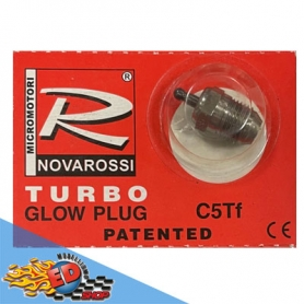 novarossi candela conica turbo c5tf