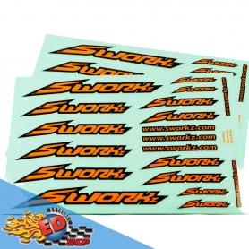 sworkz speed logo sticker (pushbar)(fo)(2pc)