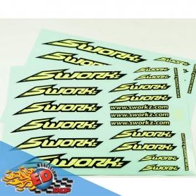 sworkz speed logo sticker (pushbar)(fy)(2pc)