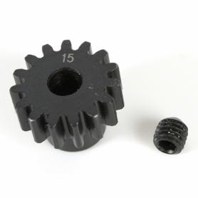 K-Factory pignone 15T M1 5mm in acciaio per elettrico