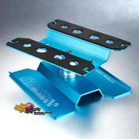 tfl supporto modello 1/10 girevole in alluminio anodizzato blu