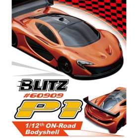 blitz p1 1/12 carrozzeria on-road sport car 0.8mm