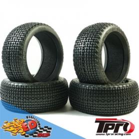 tpro keylock soft t3 - treno gomme 1/8 off-road con inserti (4)