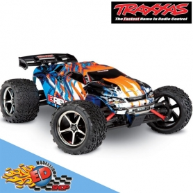 traxxas e-revo 4wd monster truck 1/16 rtr orange