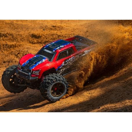 traxxas xmaxx 8s monster truck red-x edition tsm