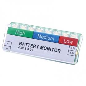 venom battery monitor 4,8v. 6,0v.
