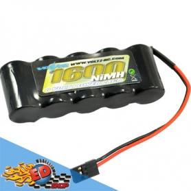 voltz pacco batterie rx 6v 1600mha in linea