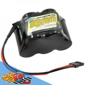 voltz pacco batterie rx 6v 1600mha hump 3+2